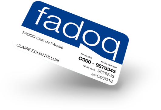 Subscribe to FADOQ