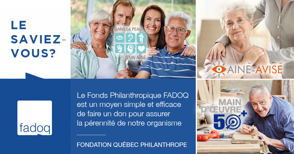 Fonds philanthropique FADOQ