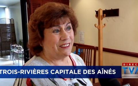 Christiane Rodes travaille encore à 75 ans