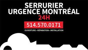 Serrurier Urgence Montréal