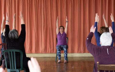 Yoga sur chaise - Session Automne