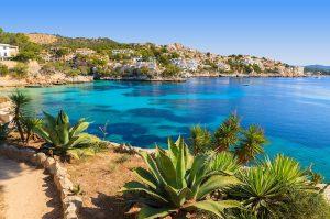 paysage de l'Île de Majorque, Espagne