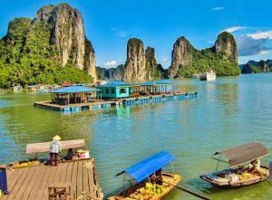 vietnam, baie de Halong