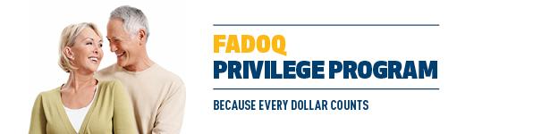 Programme FADOQ