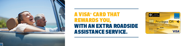 Visa Or FADOQ