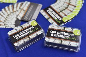jeux de cartes porteurs d'histoire
