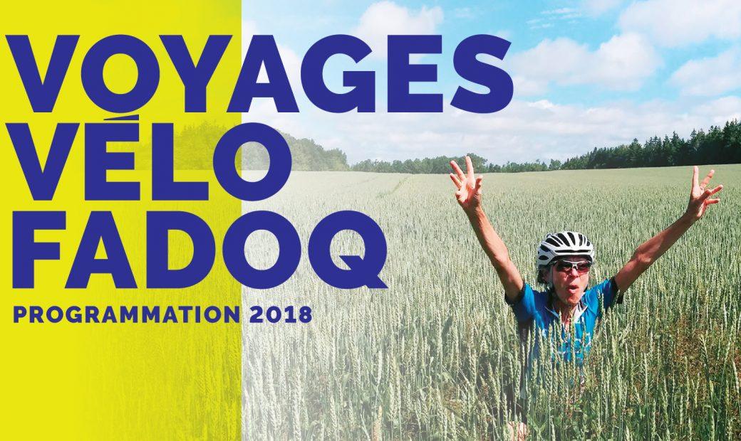 Programmation voyages vélo 2018