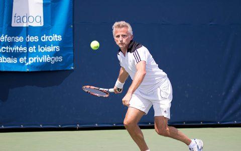 Tournoi provincial de tennis FADOQ - Une chance unique de jouer sur le même terrai...