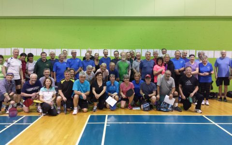 1er tournoi de pickleball à Laval