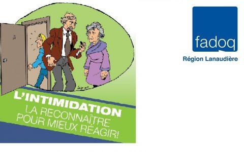 L'intimidation n'exclut malheureusement pas les aînés...