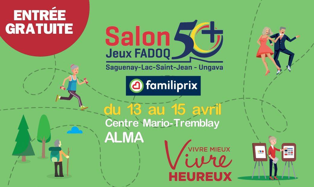 Salon 50+ et Jeux FADOQ