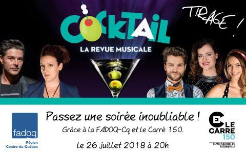 Cocktail, La revue musicale
