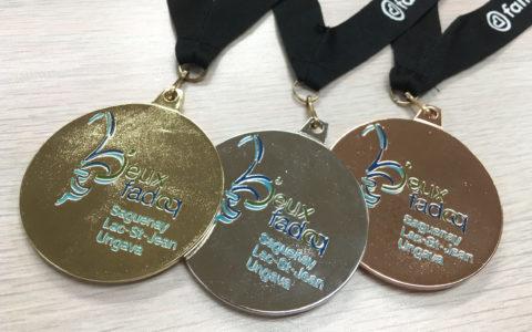 Les médaillés des Jeux FADOQ régionaux