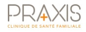 Praxis – Clinique de Santé familiale