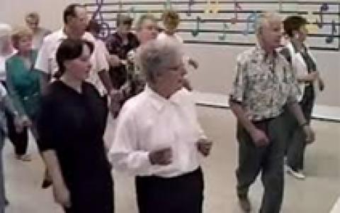 Initiation à la danse en ligne