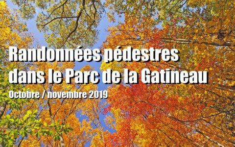 Randonnée pédestre dans le Parc de la Gatineau
