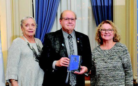 Le prix Hommage aînés à Maurice Dupont