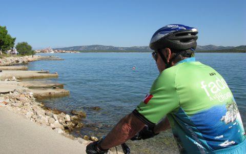 Vélo-bateau Croatie