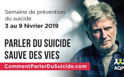 Parler du suicide peut sauver des vies