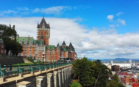 Québec Château Frontenac et Ikea