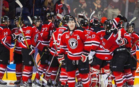 Soirée de Hockey aux Remparts de Québec