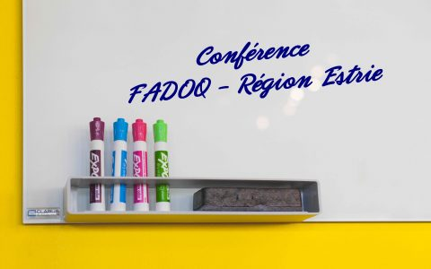 FADOQ - Région Estrie seminars