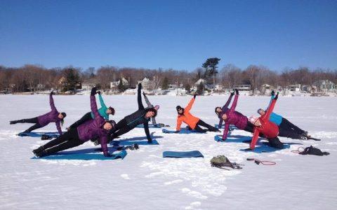 Cardio-Vitalité au parc Maisonneuve (hiver)