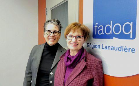 Nouvelle directrice générale  pour FADOQ – Région Lanaudière