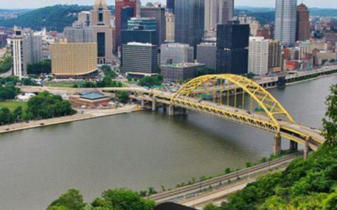 Pittsburgh et la chocolaterie d'Hershey