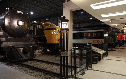 Musée ferroviaire canadien à Saint-Constant