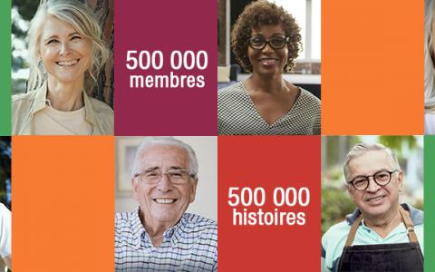 « 500 000 membres… 500 000 histoires » : deux nouvelles capsules à votre image