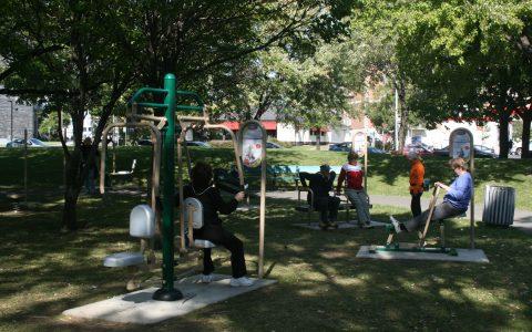 Rester actif grâce aux parcs de Montréal