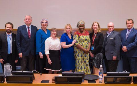 Le Réseau FADOQ à l'ONU : des revenus adéquats à la retraite, c'est essentiel