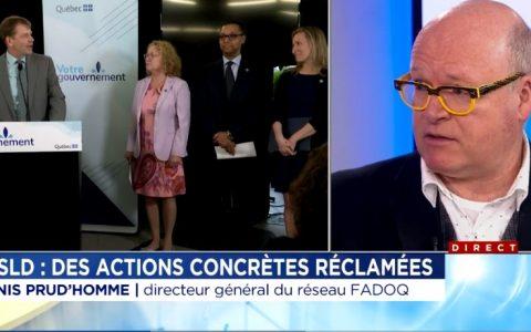 Soins de longue durée : le Réseau FADOQ appelle à l'action