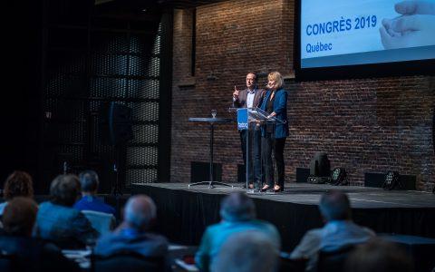 Congrès 2019 : « Le Réseau FADOQ tourné vers l'avenir »