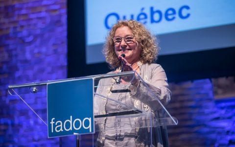 Congrès FADOQ 2019 : Marguerite Blais s'engage à combattre l'âgisme