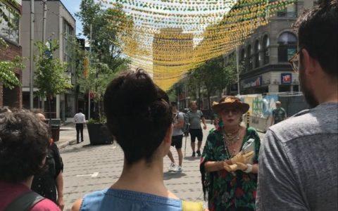 COMPLET - Visite à pied extérieure - Si La Catherine m'était contée en compagnie de Ma tante Jeannine