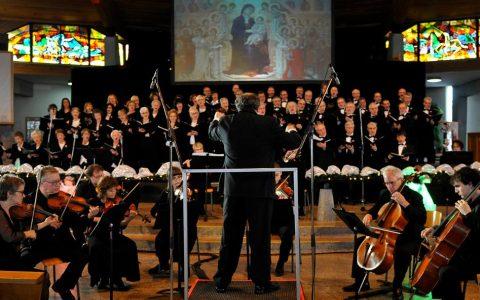 Spectacle de Noël avec le chœur Amadeus du Saguenay