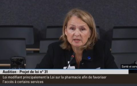 Pouvoirs élargis des pharmaciens : il faut s'assurer de l'accessibilité financière