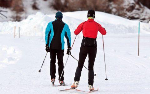 Atelier ski de fond pas de patin