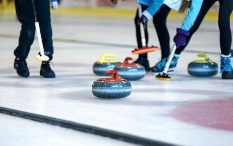 Tournoi de curling des Jeux d'hiver 50 + !