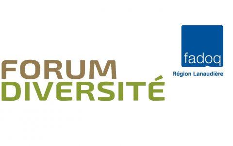 Forum Diversité avec Jasmin Roy