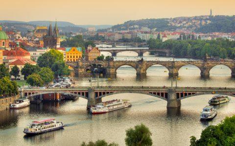 Vélo-bateau : Prague et la Rivière Elbe
