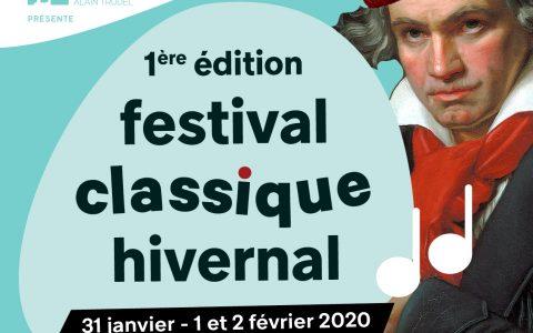 Festival Classique Hivernal 1er et 2 février 2020