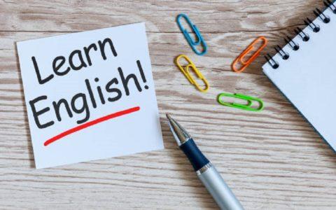 Cours d'anglais débutant