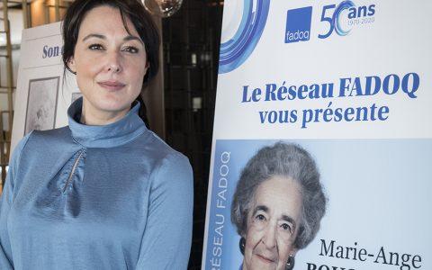 Le Réseau FADOQ honore sa fondatrice en lui consacrant une exposition
