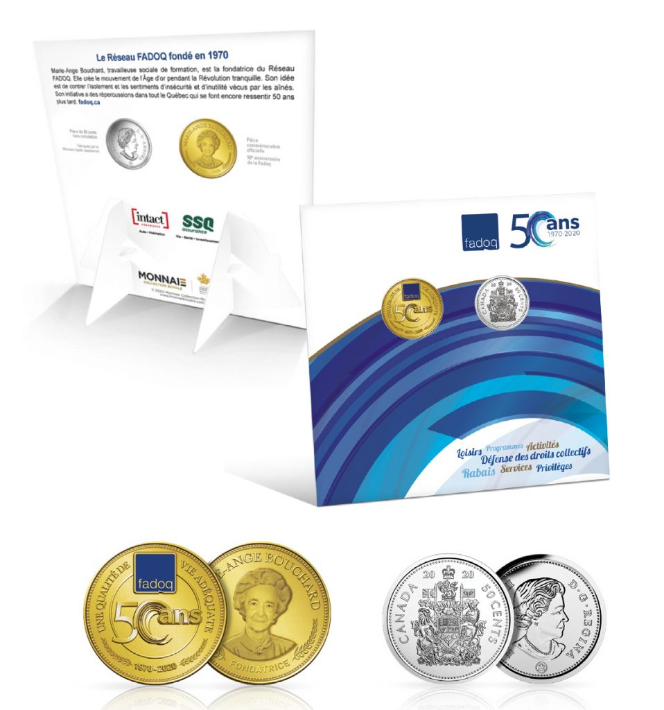 Coffret de collection Monnaie FADOQ