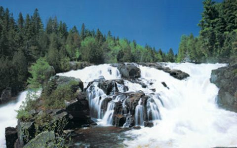 A day outdoors at the Parc des Chutes