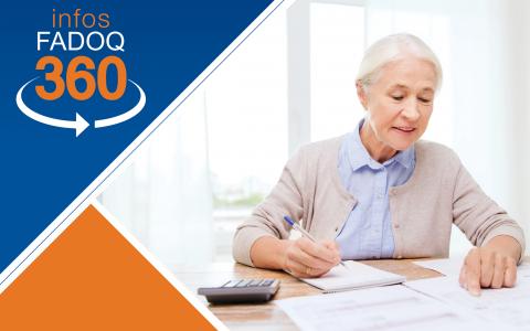 Infos FADOQ 360 : Les crédits d'impôt