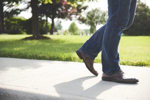 Une bonne marche…ça fait du bien !